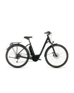 Cube Town Sport Hybrid ONE 400 Electric Hybrid Bike Black/Grey (2020)