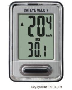 Cateye Velo 7 (Vl520) - Black