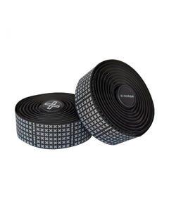 Burgh X White Bar Tape Black 2.5mm