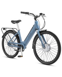 XDS E-Metro Women's Electric Cruiser Bike Blue