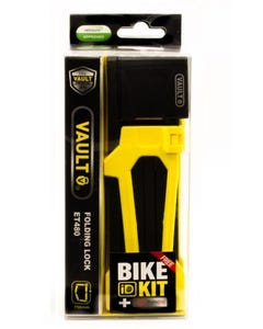 Lock Vault Folding Key Yellow 750 x 4 w Bike ID Kit