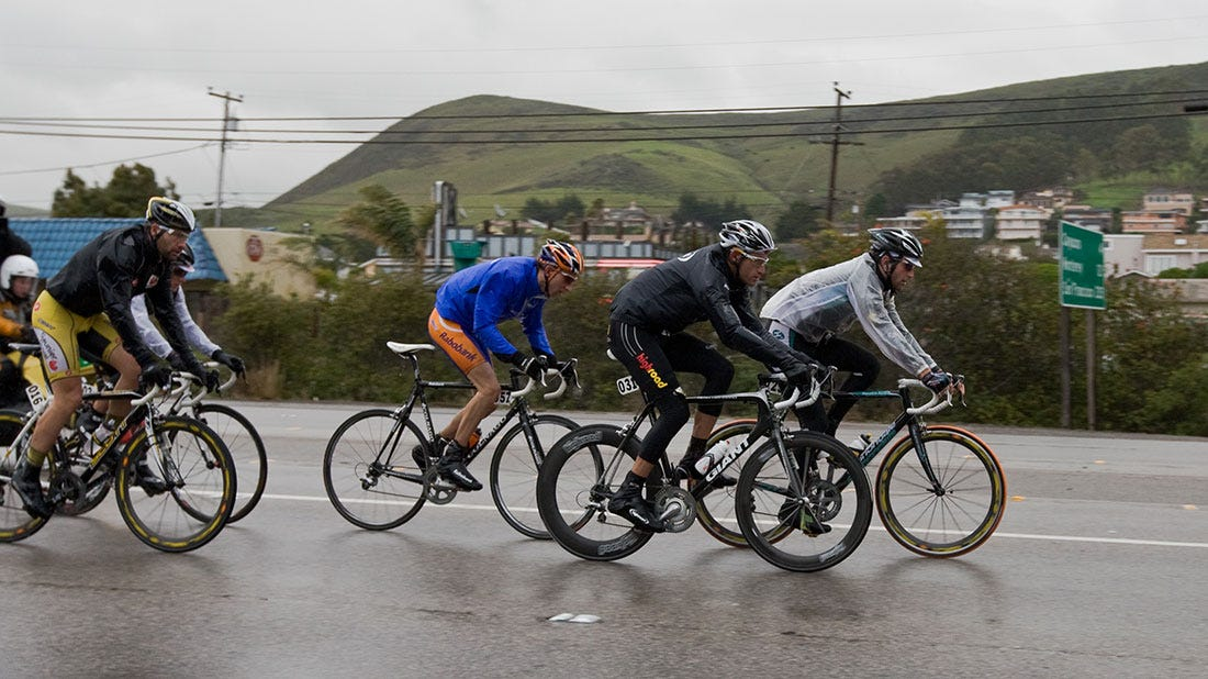 Wet weather tips: How to stay safe when cycling in the rain