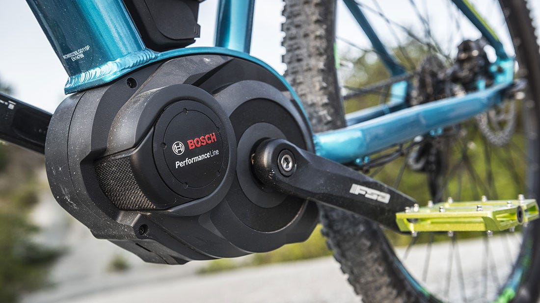 Mid-drive systems for electric bikes