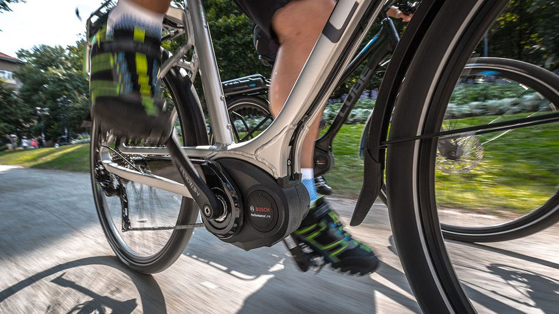 Brad's Bike Review of the Cube Touring Hybrid Active 400