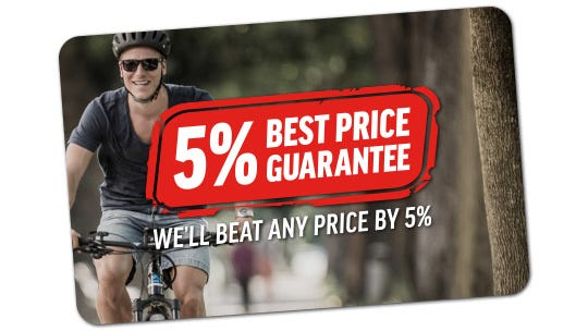 5% Price Beat Guarantee | We'll beat any price by 5%