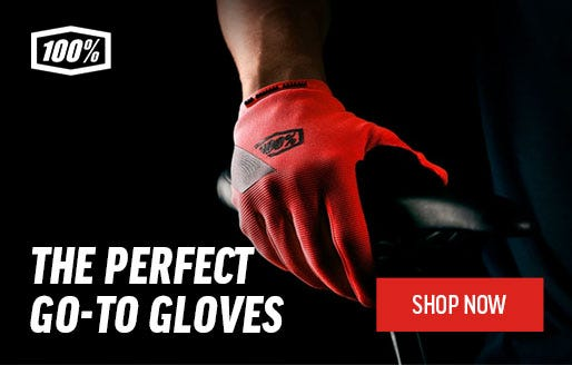 100%: The Perfect Go-To Mountain Bike Gloves | Shop Now