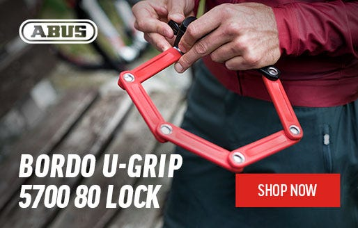 Abus: Bordo U-Grip 5700 80 Lock| Shop Now