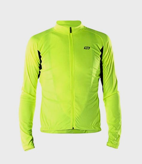 Cycling Jerseys - Sun smart & visible at the same time