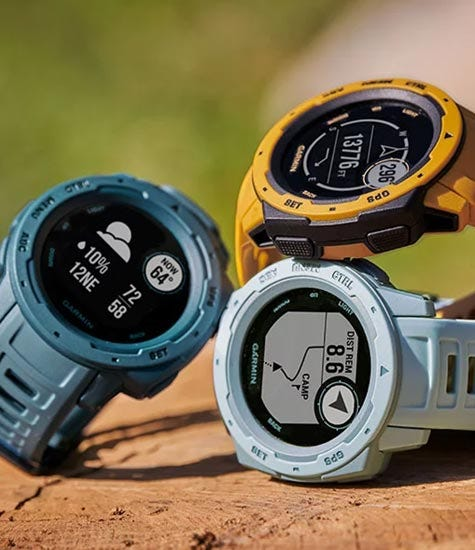 Garmin Instinct - Reliable & rugged outdoor GPS watch