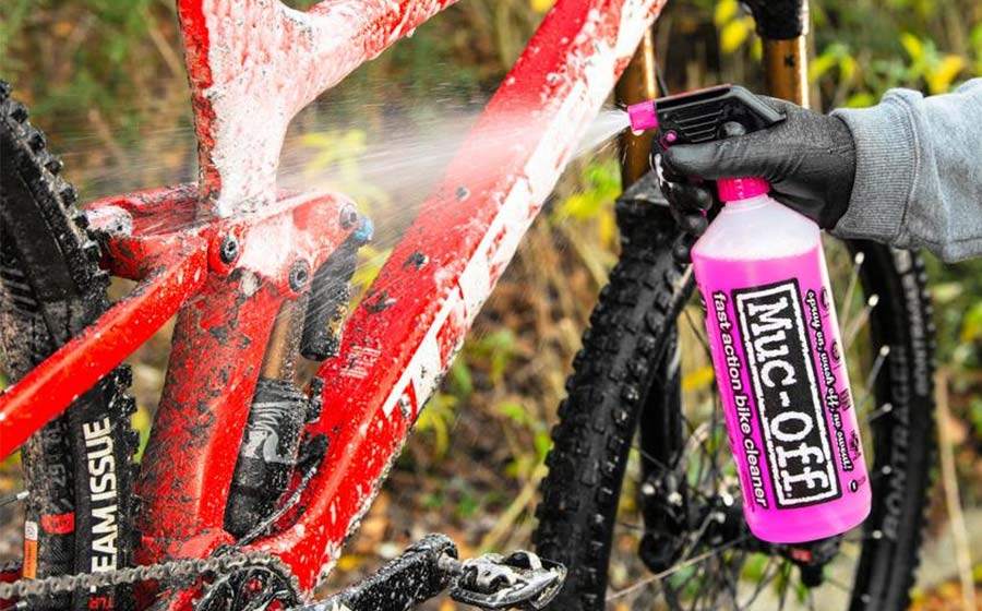 Clean - Protect - Lube - Muc-Off products are perfect for keeping your bike clean and running like new.