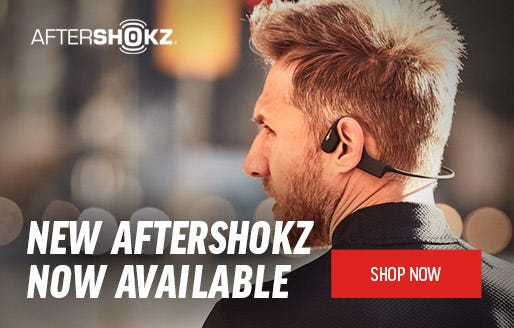 New Aftershokz Now Available | Shop Now