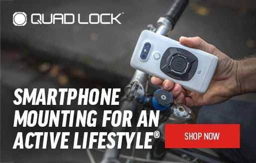 Quad Lock | Smartphone mounting for an active lifestyle | Shop Now