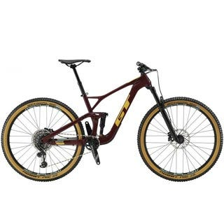 New GT Sensor Carbon Expert Mountain Bike 29 Inch Red Wine (2019)