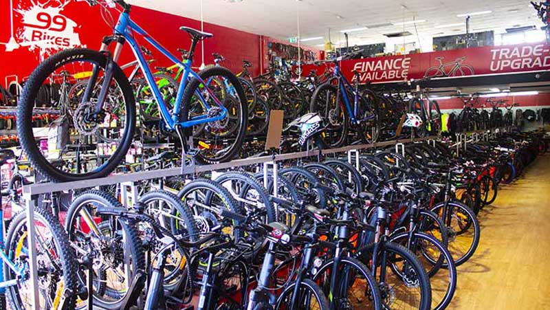 99 Bikes Brown Plains Shop Floor