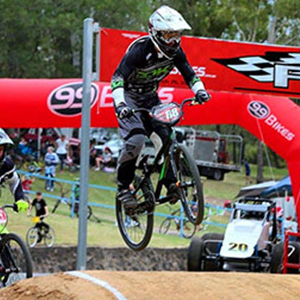 99 Bikes proud sponsors of the Ipswich West Moreton BMX Club