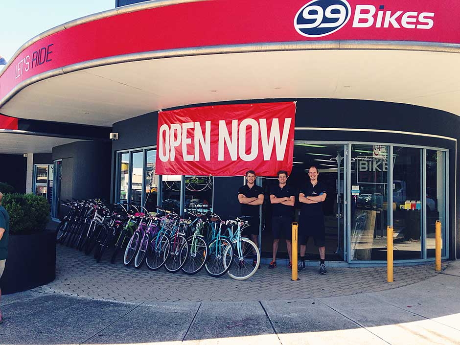99 Bikes Brookvale Now Open